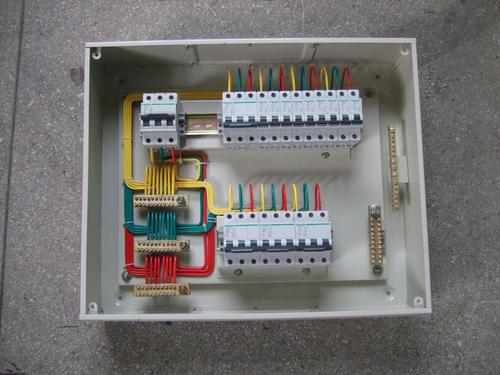 配电箱怎么接线(压电箱),才能做到整洁美观